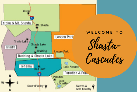 Shasta and Cascades Vacation Ideas