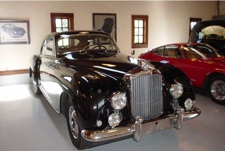 Far Niente Winery Car Collection in Oakville, CA