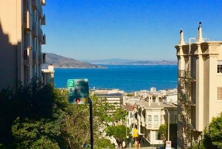 View from Nob Hill in San Francisco
